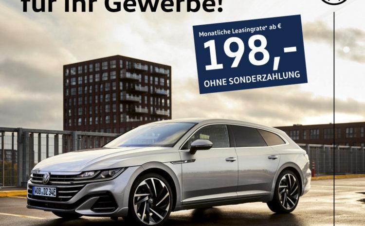 VW Arteon Offensive für Ihr Gewerbe