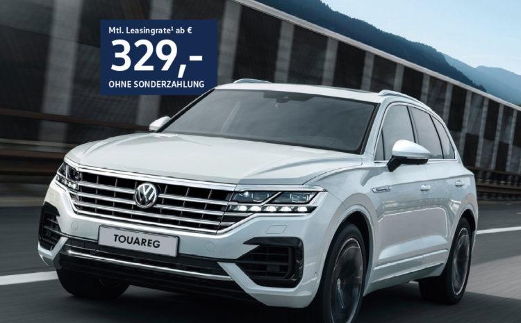VW Touareg für Handelsvertreter