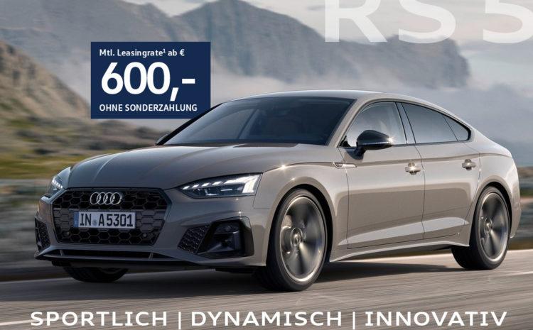 Audi RS 5 Sportback für Handelsvertreter