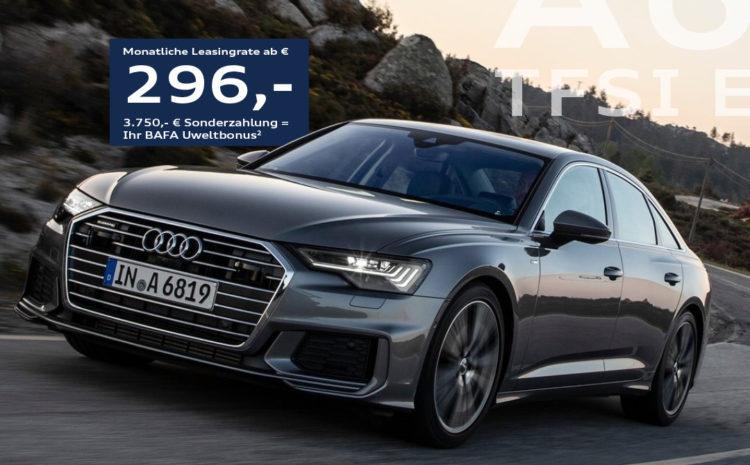 Audi A6 Limousine für Handelsvertreter